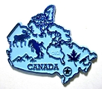 Canada Map Fridge Fridge Magnet