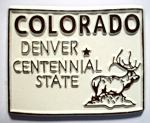Colorado State Outline Magnet