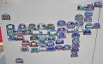 All 50 State Artwood Welcome Magnets Design 14