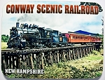 Conway Scenic Railroad Fridge Magnet Design 26