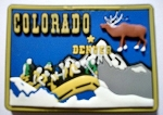 Colorado Multi Color Fridge Magnet Design 18