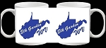 Elk Garden West Virginia Coffee Cup Picture on each side Design 1