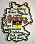 Germany Map Outline Fridge Magnet Design 25
