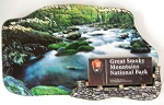 Great Smoky Mountains National Park Artwood Fridge Magnet Design 1