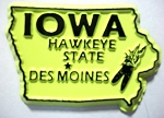 Iowa State Outline Magnet Design 10