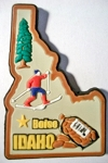 Idaho Boise Multi Color Fridge Magnet Design 18