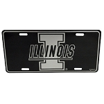 Illinois Fighting Illini Elite License Plate-NCAA