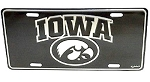Iowa Hawkeyes Elite License Plate-NCAA
