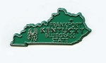 Kentucky State Outline Magnet Design 1