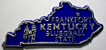 Kentucky State Outline Magnet