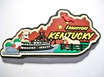 Kentucky Multi Color Fridge Magnet Design 18