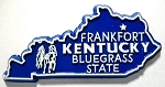 Kentucky State Outline Magnet Design 10