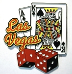 Las Vegas 7 and 21 Fridge Magnet Design 25