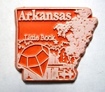 Arkansas Little Rock United States Fridge Magnet Design 3