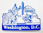 Washington DC Fridge Magnet Design 3