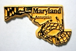 Maryland Annapolis United States Fridge Magnet Design 3