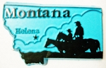 Montana Helena United States Fridge Magnet Design 3