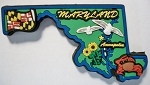 Maryland Multi Color Fridge Magnet