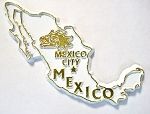 Mexico Outline Fridge Magnet Design 10