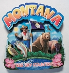 Montana Montage Artwood Fridge Magnet Design 16