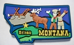 Montana Helena Multi Color Fridge Magnet Design 18