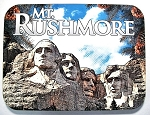 Mt. Rushmore Collage Fridge Magnet Design 26