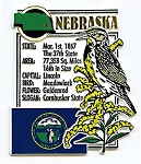 Nebraska The Cornhusker State Montage Fridge Magnet Design 5
