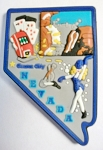 Nevada Multi Color Fridge Magnet Design 18