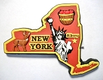 New York Albany Multi Color Fridge Magnet Design 18