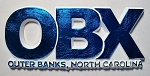 OBX Block Blue Fridge Magnet Design 10