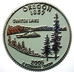 Oregon State Quarter Fridge Magnet Design 13
