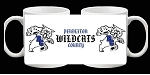 Pendleton County Wildcats Coffee Mugs Picture on each side Design 1