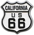 Rt 66 California Road Sign Magnet Design 1