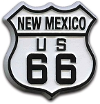 Rt 66 New Mexico Road Sign Fridge Magnet Design 1