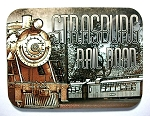 Strasburg Rail Road Pennsylvania Photo Fridge Magnet