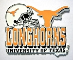 Texas Longhorns Helmet Fridge Magnet-NCAA