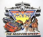 Dover Delaware The Need for Speed Artwood Fridge Magnet
