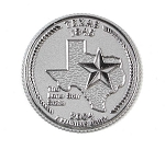 Texas State Quarter Fridge Magnet Design 13