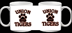 Union Tigers Coffee Cup Picture on each side Design 1