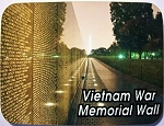 Vietnam War Memorial Wall Washington D.C. Fridge Magnet Design 26