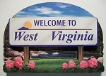 West Virginia State Welcome Sign Artwood Fridge Magnet Design 14