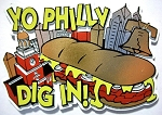 Yo Philly Dig In Fridge Magnet