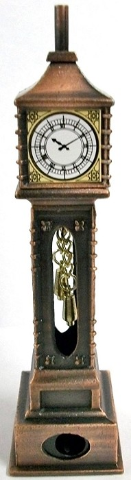 Old Time Grandfather Clock Die Cast Metal Collectible Pencil Sharpener Design 1