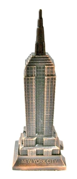 Empire State Building Die Cast Metal Collectible Pencil Sharpener Design 1