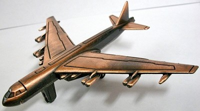 B-52 Bomber Die Cast Metal Collectible Pencil Sharpener Design 1