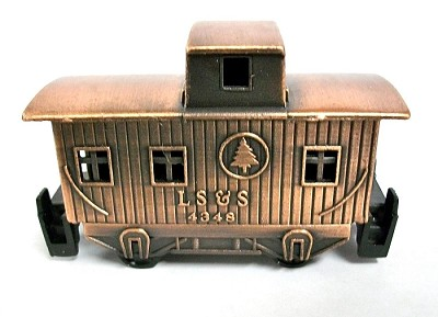 Old Time Caboose Die Cast Metal Collectible Pencil Sharpener Design 1