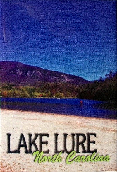 Lake Lure North Carolina Fridge Magnet