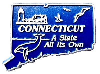 Classic Connecticut A State all its Own United States Magnet