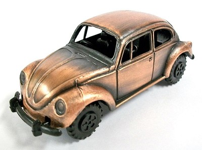 Volkswagon Beetle Die Cast Metal Collectible Pencil Sharpener Design 1