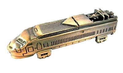 Amtrak Locomotive Die Cast Metal Collectible Pencil Sharpener